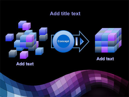 Mosaic Of Pixels PowerPoint Template Slide 17