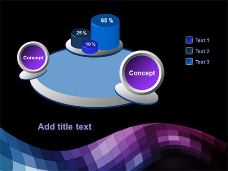 Mosaic Of Pixels PowerPoint Template Slide 6