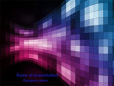 Abstract/Textures: Mosaic Of Pixels PowerPoint Template #07904