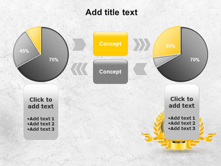 Golden Cup PowerPoint Template Slide 11