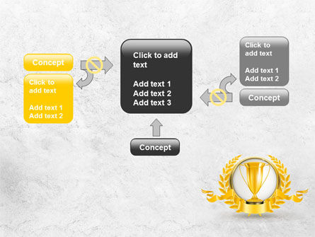 Golden Cup PowerPoint Template Slide 13