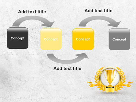 Golden Cup PowerPoint Template Slide 4