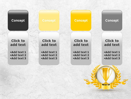 Golden Cup PowerPoint Template Slide 5