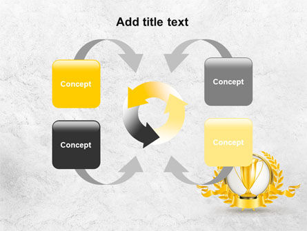 Golden Cup PowerPoint Template Slide 6