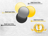 Golden Cup PowerPoint Template#10