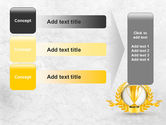 Golden Cup PowerPoint Template#12