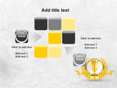 Golden Cup PowerPoint Template#16