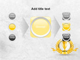 Golden Cup PowerPoint Template#17