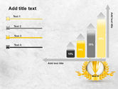 Golden Cup PowerPoint Template#8