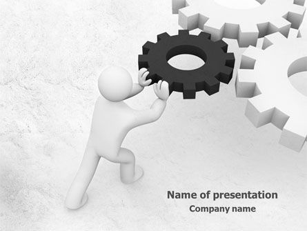 Consulting: Important Detail PowerPoint Template #07906