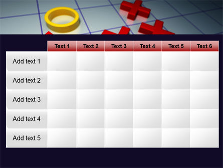 Crosses And Zeros PowerPoint Template Slide 15