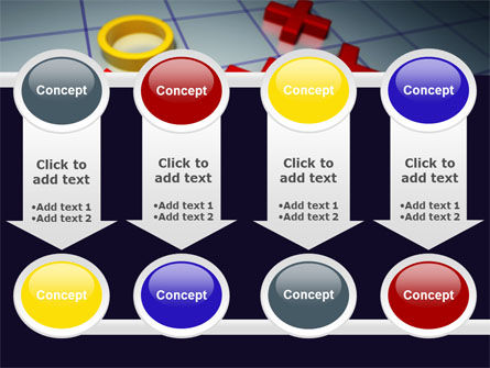 Crosses And Zeros PowerPoint Template Slide 18