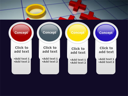 Crosses And Zeros PowerPoint Template Slide 5