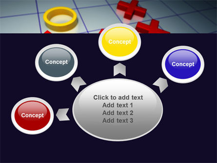 Crosses And Zeros PowerPoint Template Slide 7