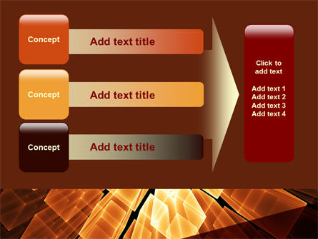 Glowing Rods PowerPoint Template Slide 12