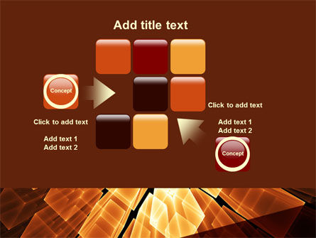 Glowing Rods PowerPoint Template Slide 16