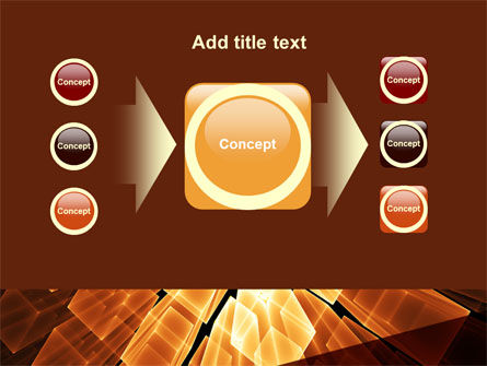 Glowing Rods PowerPoint Template Slide 17