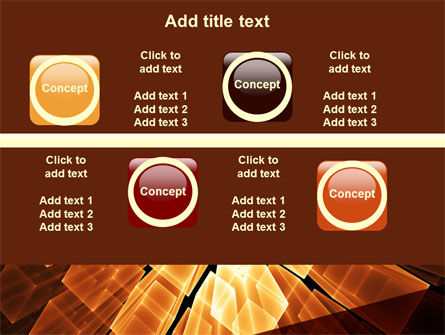 Glowing Rods PowerPoint Template Slide 19
