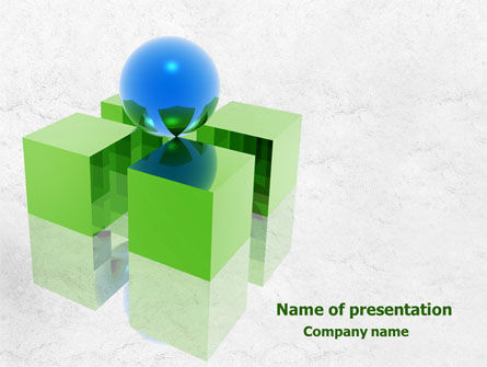 Equilibrium PowerPoint Template, 07914, Business Concepts — PoweredTemplate.com
