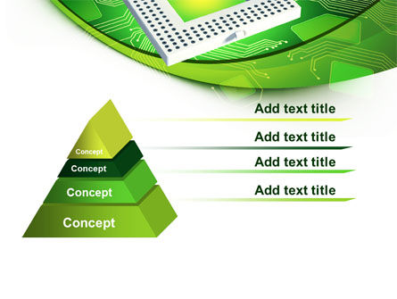 Socket For Microprocessor PowerPoint Template, Slide 4, 07915, Technology and Science — PoweredTemplate.com