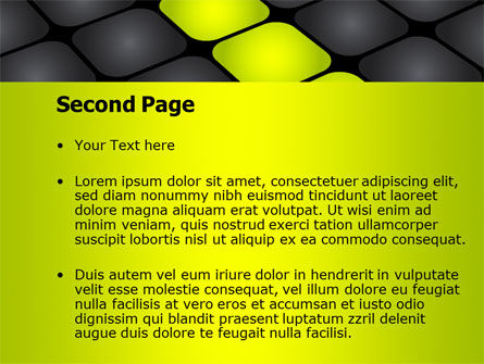 Lighted Path PowerPoint Template Slide 2