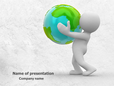 Habitat PowerPoint Template, 07919, Global — PoweredTemplate.com