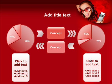 Compact Camera Free PowerPoint Template Slide 11
