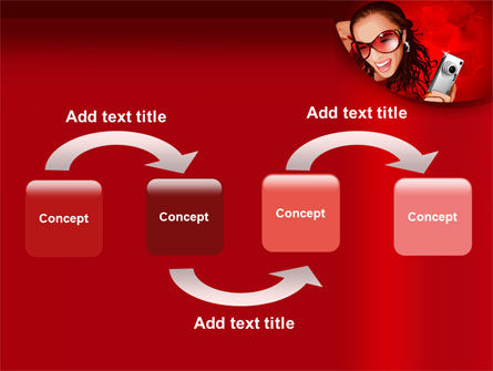 Compact Camera Free PowerPoint Template Slide 4