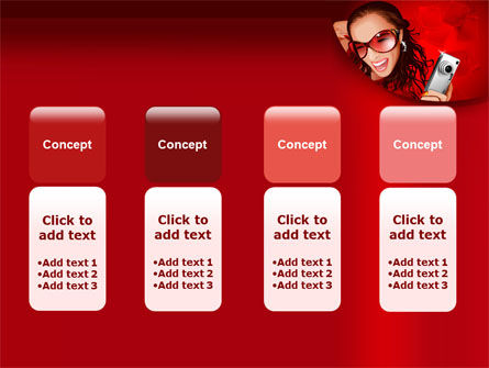 Compact Camera Free PowerPoint Template Slide 5