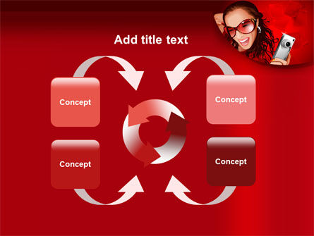 Compact Camera Free PowerPoint Template Slide 6