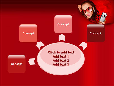 Compact Camera Free PowerPoint Template Slide 7