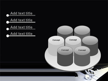 Music Key PowerPoint Template Slide 12
