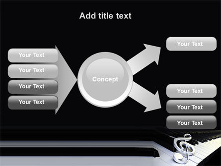 Music Key PowerPoint Template Slide 15
