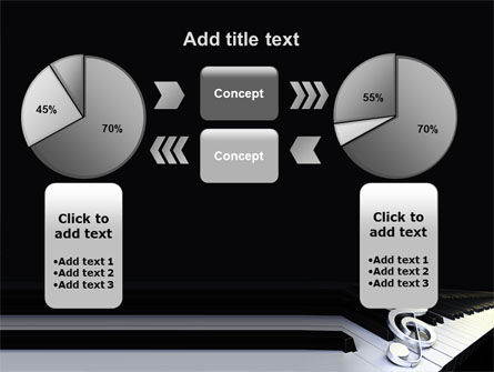 Music Key PowerPoint Template Slide 16