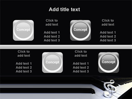 Music Key PowerPoint Template Slide 18