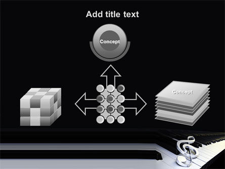 Music Key PowerPoint Template Slide 19