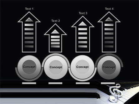 Music Key PowerPoint Template Slide 7