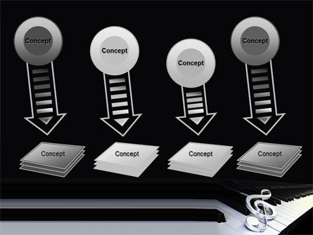 Music Key PowerPoint Template Slide 8