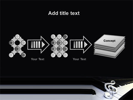 Music Key PowerPoint Template Slide 9