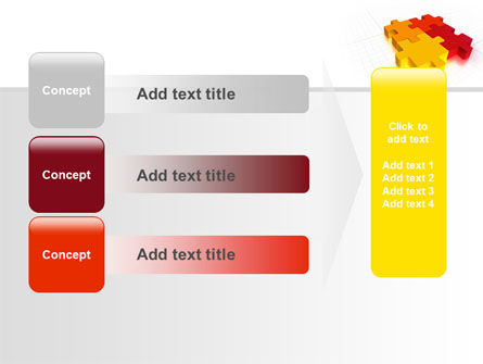 Fitting the Puzzle PowerPoint Template Slide 12