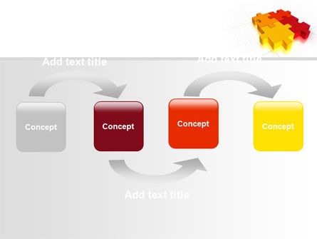 Fitting the Puzzle PowerPoint Template Slide 4