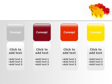 Fitting the Puzzle PowerPoint Template Slide 5