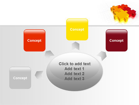 Fitting the Puzzle PowerPoint Template Slide 7