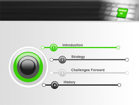 Contact Us PowerPoint Template, Slide 3, 07927, Careers/Industry — PoweredTemplate.com