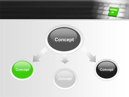 Contact Us PowerPoint Template, Slide 4, 07927, Careers/Industry — PoweredTemplate.com
