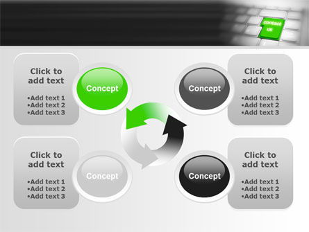 Contact Us PowerPoint Template Slide 9