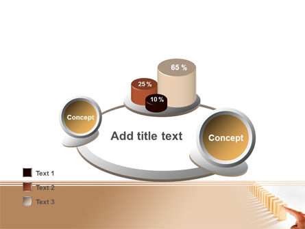 Domino Effect PowerPoint Template Slide 16
