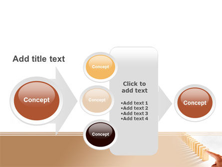 Domino Effect PowerPoint Template Slide 17