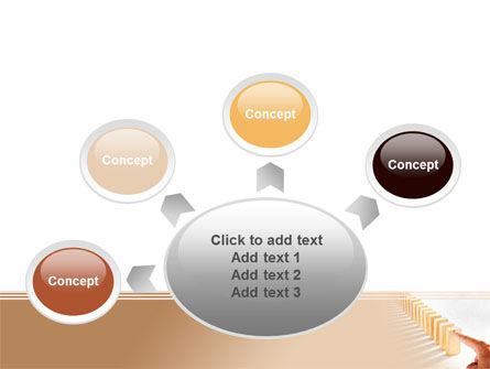 Domino Effect PowerPoint Template Slide 7
