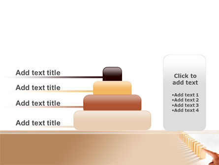 Domino Effect PowerPoint Template Slide 8